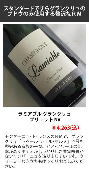 もっと気軽にシャンパーニュを楽しもう特集 ラミアブル