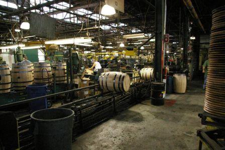 イチローズモルトセミナー 完成間近の樽