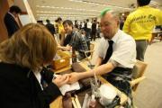 ウイスキートーク福岡2014 イベント報告 メイン会場 メンズネイルが体験できるブース