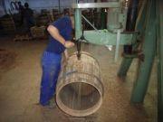 イチローズモルトセミナー 手作業で樽を造るスペインのクーパレッジ