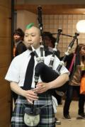 ウイスキートーク福岡2014 イベント報告 メイン会場 バグパイプ演奏 小貫友寛氏